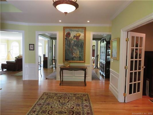 Mansions in beautiful Niantic River waterfront home