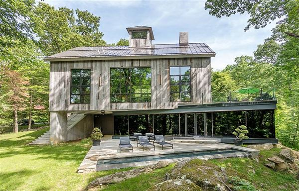 Simply Stunning Barn Style House Connecticut Luxury Homes