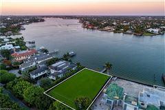 new coastal traditional on Naples Bay luxury properties