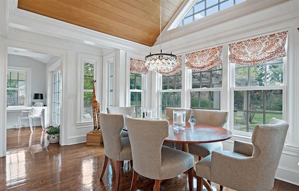 Luxury homes in top to bottom renovation andexpansion brilliantly executed