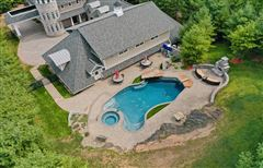 "Mansions custom built ""in town"" estate"