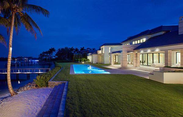 Luxury real estate superb modern property