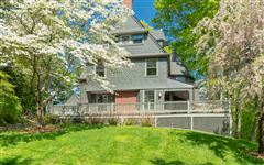 Luxury real estate updated Shingle-style Victorian