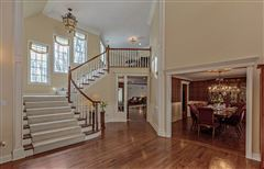 Mansions in sophisticated Bedford Corners colonial home