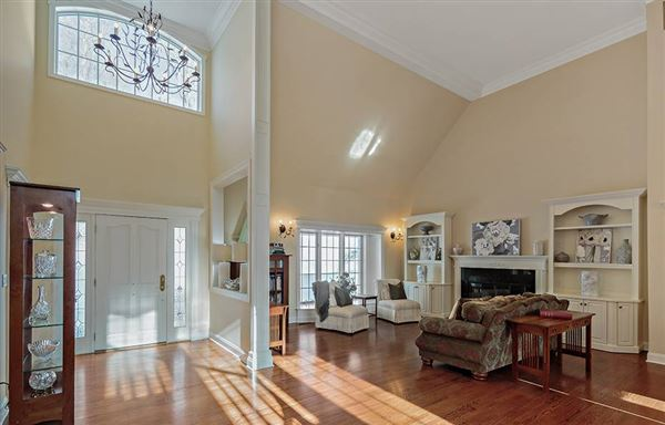Luxury properties sophisticated Bedford Corners colonial home