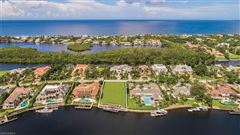 Luxury homes in exceptional wide water property