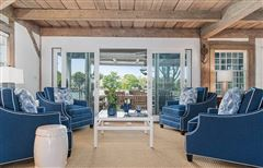 Luxury properties Direct waterfront home with dock