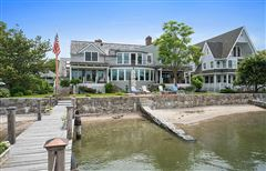 Direct waterfront home with dock luxury real estate