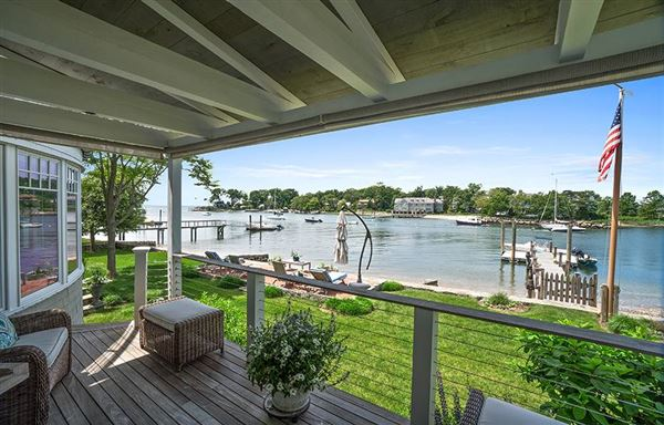 Luxury homes in Direct waterfront home with dock