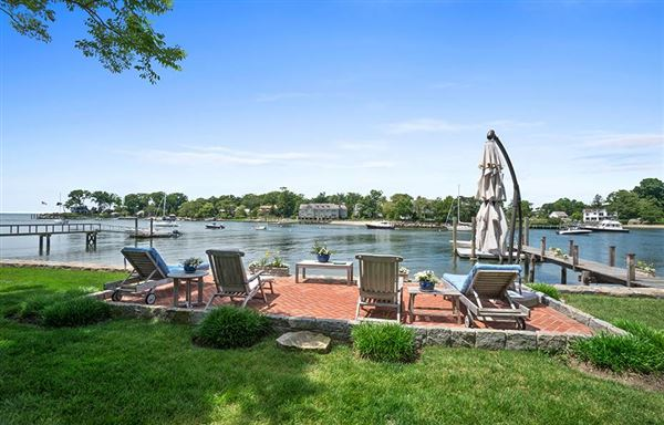 Mansions in Direct waterfront home with dock