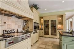 Luxury homes in premier estate in a park-like setting