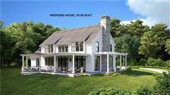 proposed new home high above Lake Waramaug  mansions