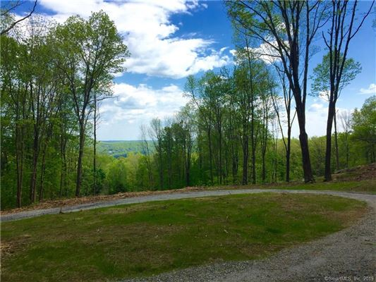 proposed new home high above Lake Waramaug  luxury real estate