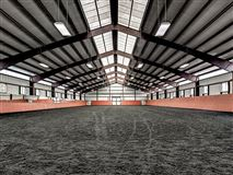Luxury homes in luxury-designed equestrian property
