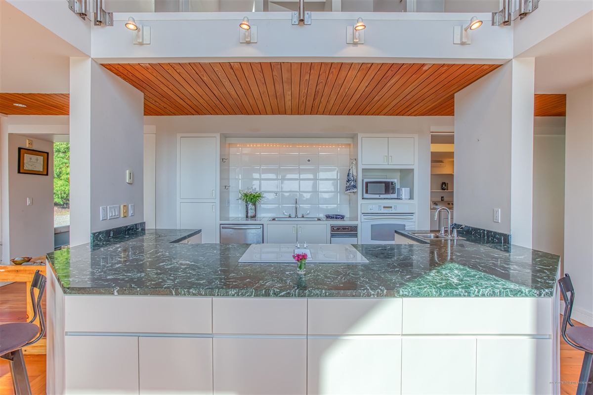 Luxury homes architect designed waterfront home