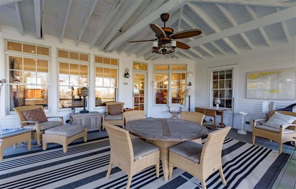 Luxury homes striking Captains Style home