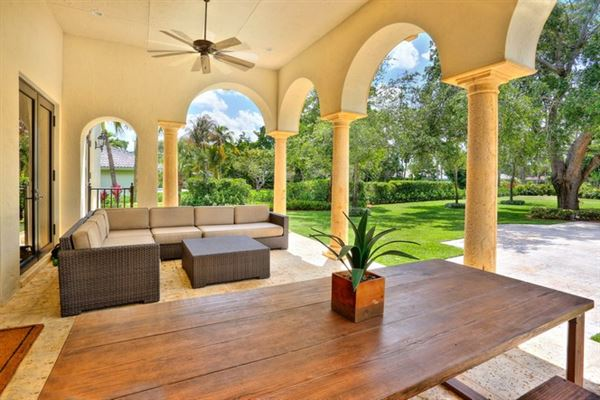 tasteful updates in pinecrest luxury homes