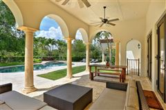Luxury real estate  tasteful updates in pinecrest
