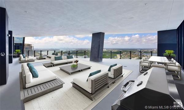 the upper penthouse in muse luxury homes
