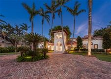 Mansions in Waterfront mansion sits on a lush 1.2-acre lot