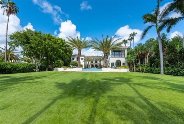 Luxury homes in Waterfront mansion sits on a lush 1.2-acre lot