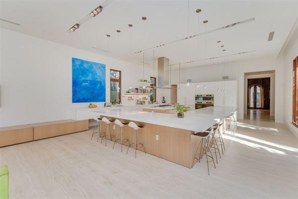 Spectacular Miami Beach Modern Mediterranean mansions