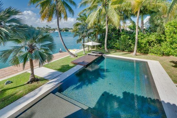 Mansions in Spectacular Miami Beach Modern Mediterranean