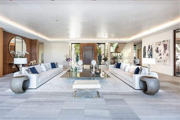 New contemporary Bayfront mansion luxury real estate