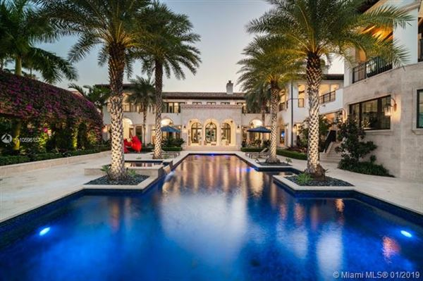 Luxury homes in elegant and sophisticated estate