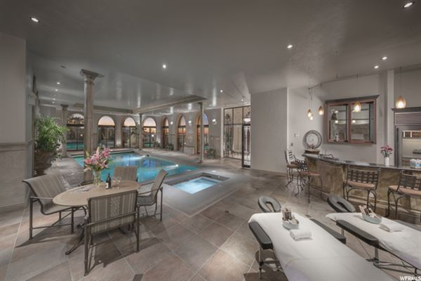 Luxury homes in Monte Olimpo in salt lake valley