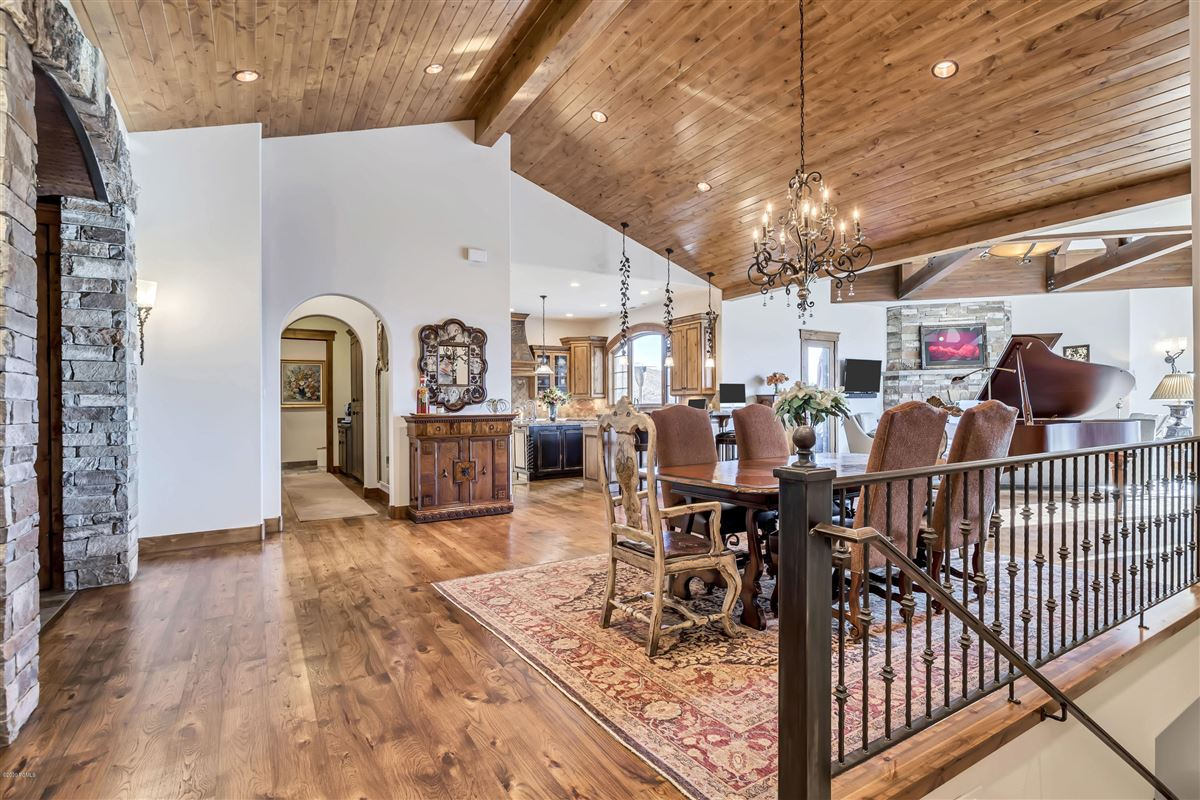 one-of-a-kind property on the Park Meadows golf course luxury homes