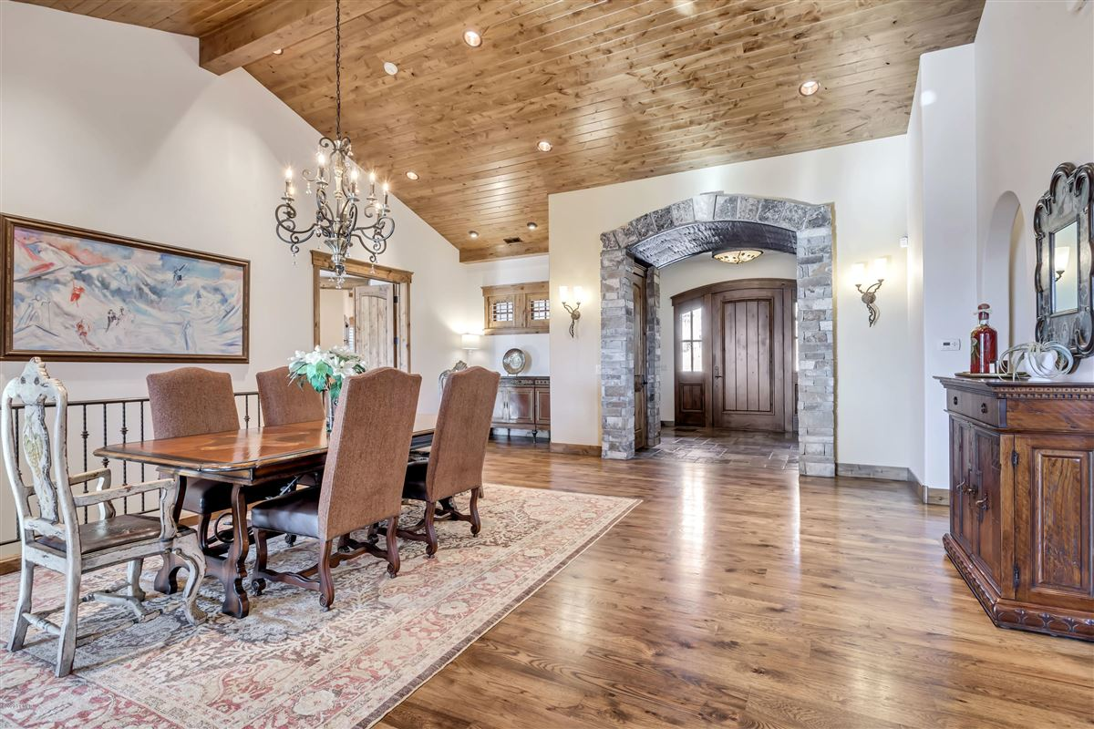 Luxury real estate one-of-a-kind property on the Park Meadows golf course