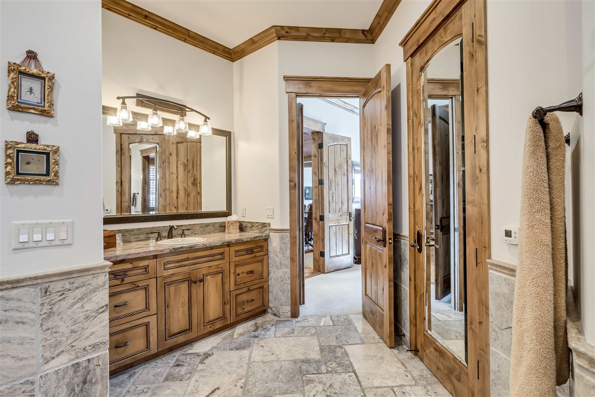 Luxury homes one-of-a-kind property on the Park Meadows golf course