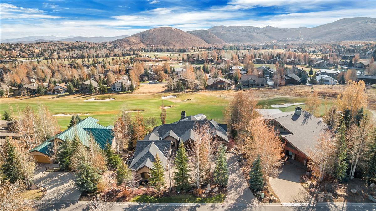 one-of-a-kind property on the Park Meadows golf course mansions