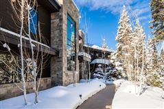contemporary ski residence in the colony luxury properties