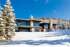 Luxury homes in contemporary ski residence in the colony