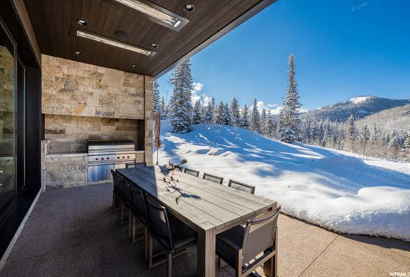 contemporary ski residence in the colony luxury real estate