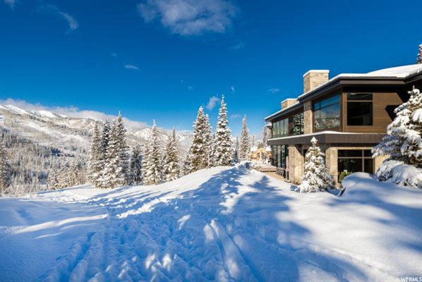 Mansions contemporary ski residence in the colony