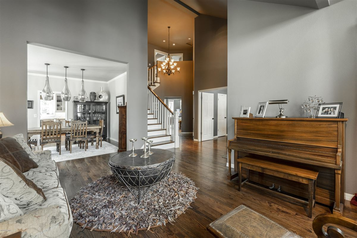 Luxury real estate Large home with custom upgrades