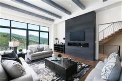 Luxury real estate  stunning new home close to town and skiing