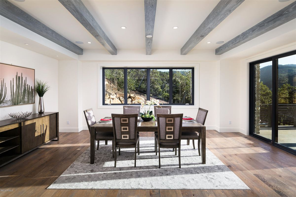 stunning new home close to town and skiing luxury real estate