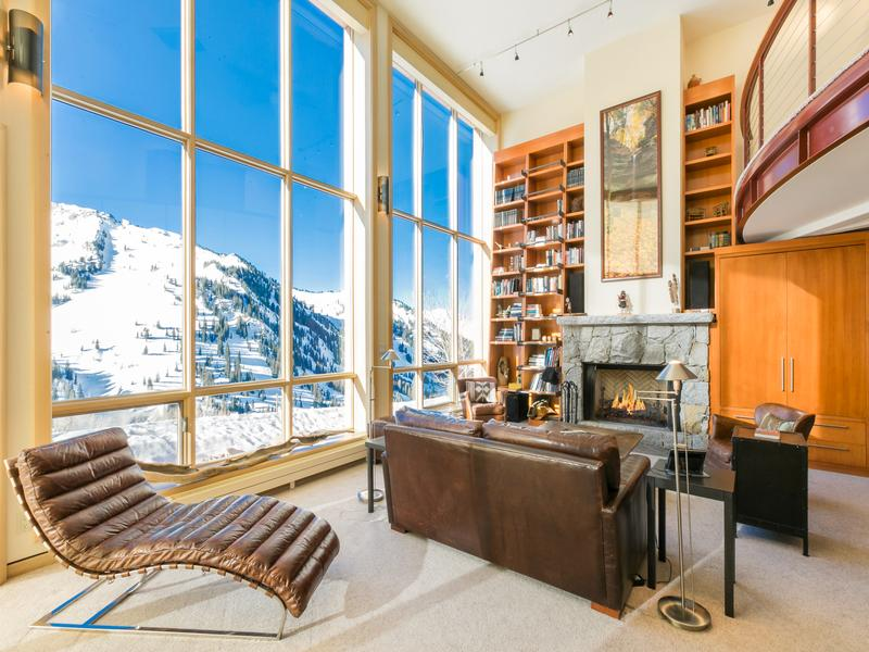 Rare Alta Ski Home luxury real estate