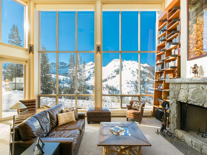 Luxury properties Rare Alta Ski Home