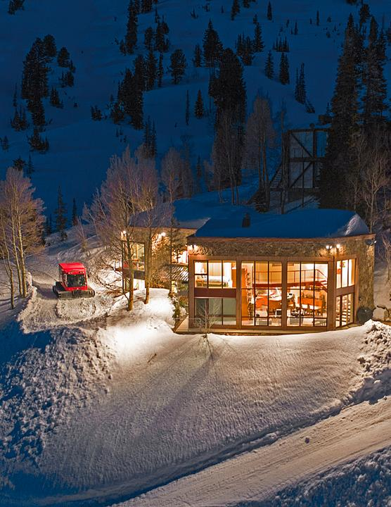 Mansions in Rare Alta Ski Home