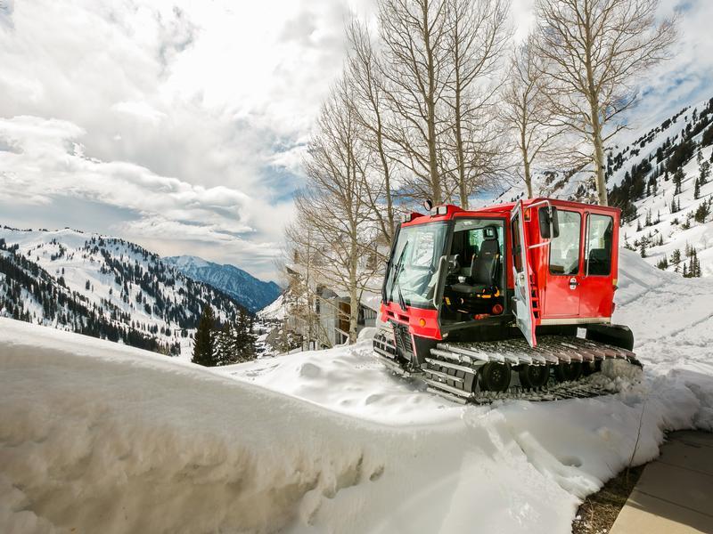 Mansions Rare Alta Ski Home