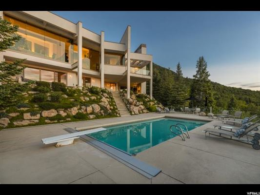 Mansions in Salt Lake Countys most iconic view home