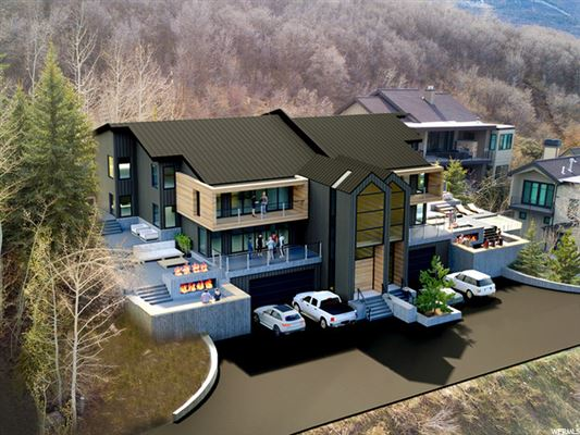 Luxury homes Park City Opportunity with several options