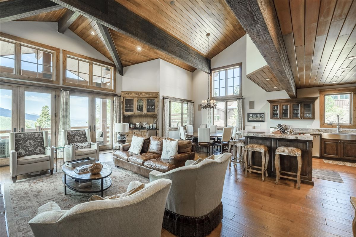 Luxury real estate Free Standing Deer Valley Home with Incredible Views