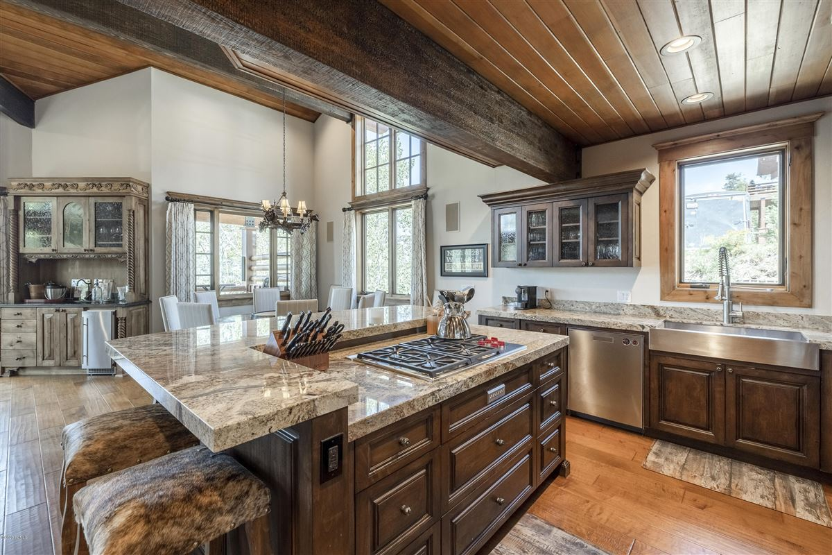 Free Standing Deer Valley Home with Incredible Views mansions