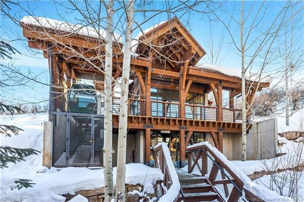 Ski In Ski Out Resort Penthouse luxury real estate